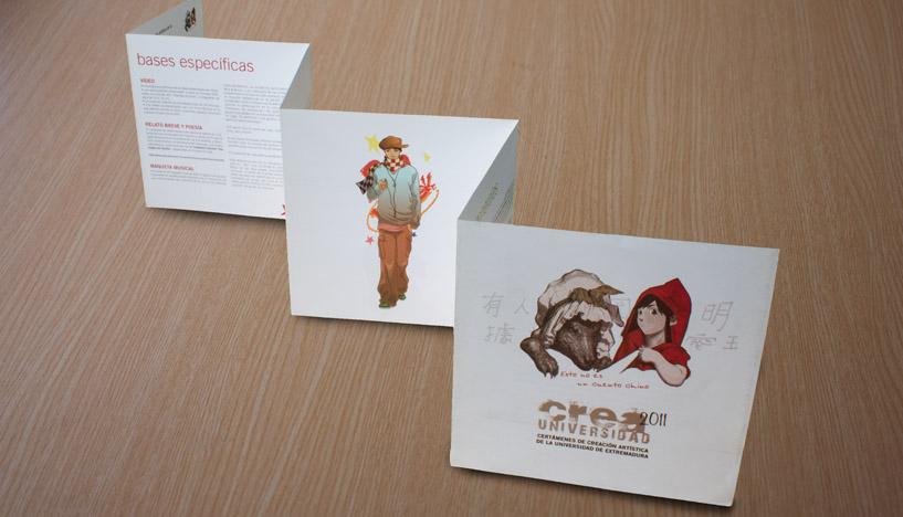 180905_Creaerte_CREA Universidad 2011 folleto acordeon